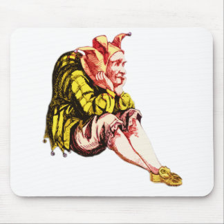 Fed-Up Court Jester Mouse Pad