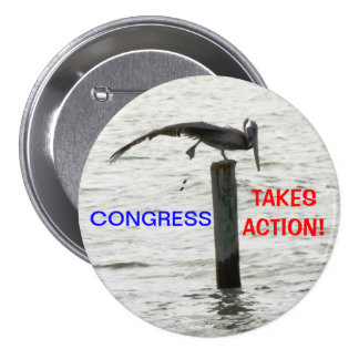 Fed Up With Congress  Button