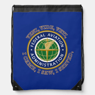 Federal Aviation Administration Shield Backpacks