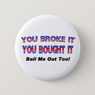 Federal Bailout Button