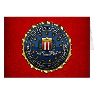 Federal Bureau of Investigation Greeting Card