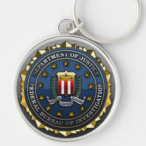 Federal Bureau of Investigation Keychain