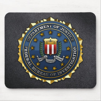 Federal Bureau of Investigation Mouse Mat