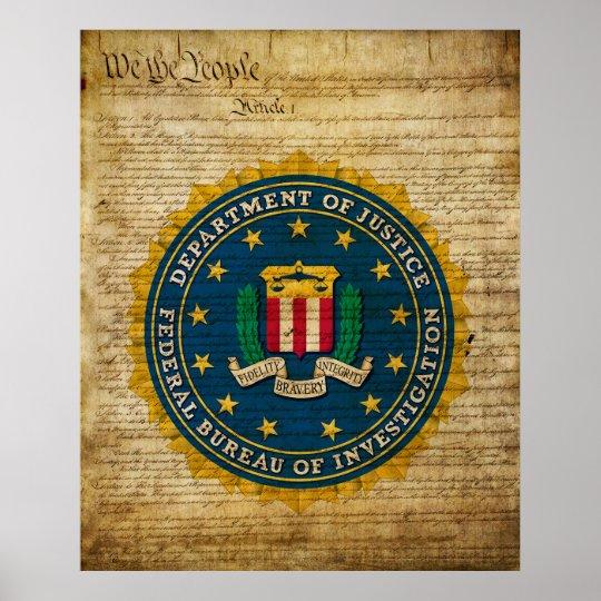 Federal Bureau of Investigation Poster