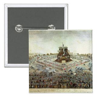 Federal Camp at Lyon, 30th May 1790 15 Cm Square Badge