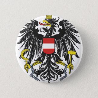 Federal eagle Austria 6 Cm Round Badge