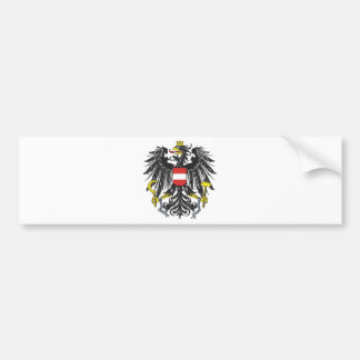 Federal eagle Austria Bumper Sticker