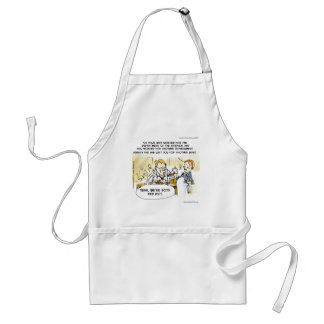 Federal Ex Spouse Funny Standard Apron