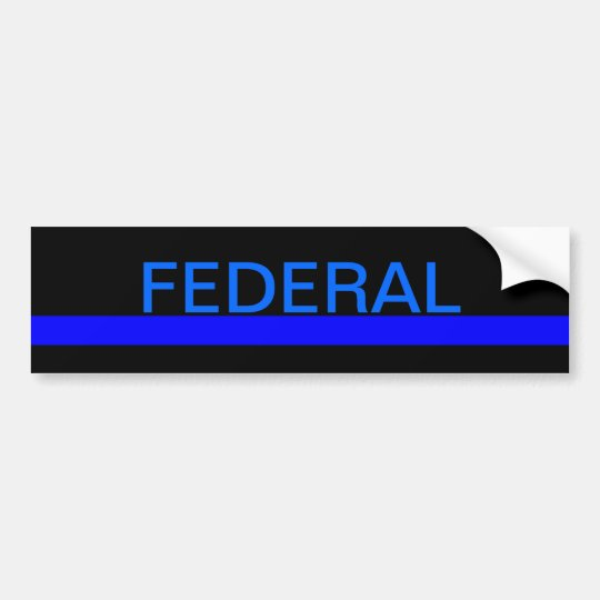 Federal LEO bumper sticker