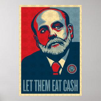 Federal Reserve Chair Ben Bernanke Print