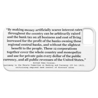 Federal Reserve Interest Rates by Alfred O Crozier iPhone 5 Case
