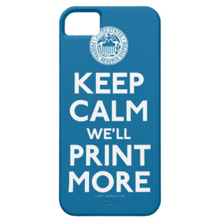 Federal Reserve Keep Calm Parody Case Case For The iPhone 5