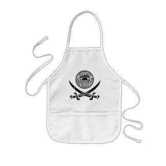 Federal Reserve Pirate Logo Kids Apron