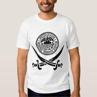 Federal Reserve Pirate Logo Tees