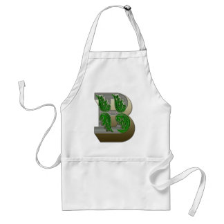 Federal Style Letter B Aprons