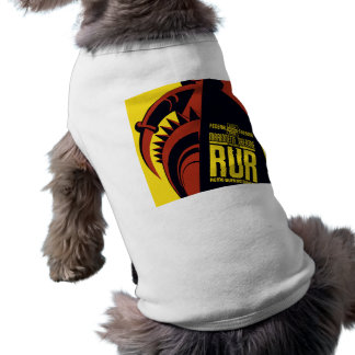 "Federal Theatre: Marionette Theatre presents ""RUR"" Sleeveless Dog Shirt"