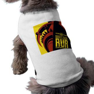 "Federal Theatre: Marionette Theatre presents ""RUR"" Sleeveless Dog Shirt"
