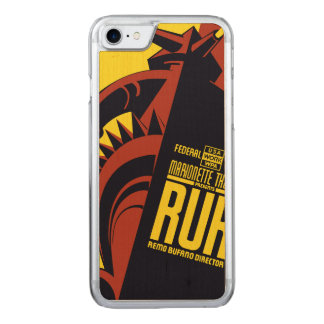 """Federal Theatre: Marionette Theatre """"RUR"""" Carved iPhone 7 Case"""