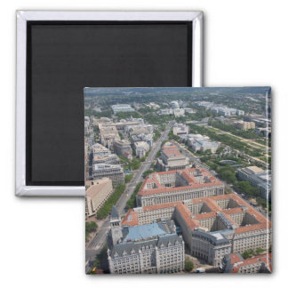Federal Triangle Washington D.C. Square Magnet