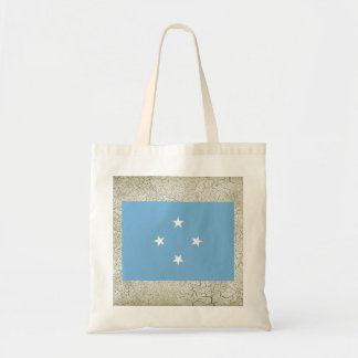 Federated States of Micronesia Flag Budget Tote Bag