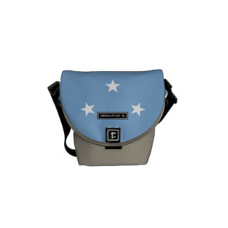 Federated StATES of Micronesia Flag Messenger Bags