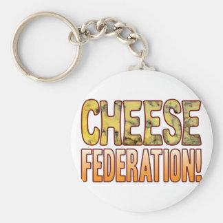 Federation Blue Cheese Key Ring
