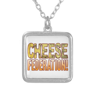 Federation Blue Cheese Silver Plated Necklace