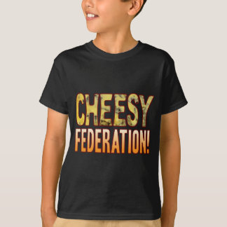 Federation Blue Cheesy T-Shirt
