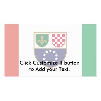 Federation Of Bosnia And Herzegovina, Bosnia and H Business Card Templates