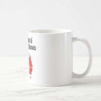 Federation of Dangerous Animals Basic White Mug
