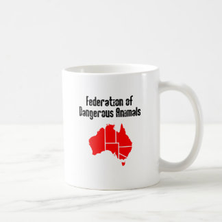 Federation of Dangerous Animals Coffee Mugs