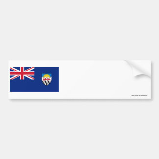 Federation of Rhodesia and Nyasaland Flag 1953-63 Bumper Sticker