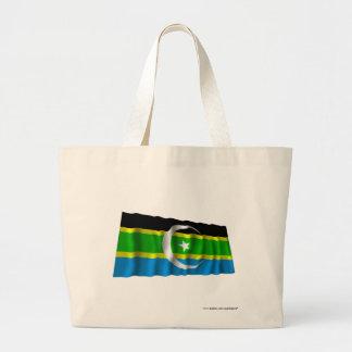 Federation of South Arabia Waving Flag Jumbo Tote Bag