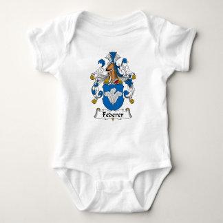 Federer Family Crest Baby Bodysuit