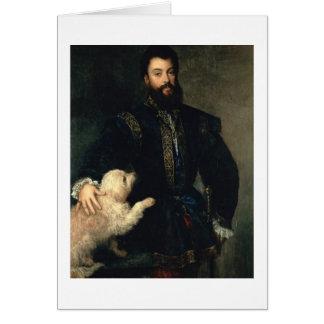 Federigo Gonzaga, Duke of Mantua, c.1525-30 (oil o Card