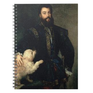 Federigo Gonzaga, Duke of Mantua, c.1525-30 (oil o Spiral Notebooks