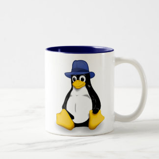 Fedora Linux Mug