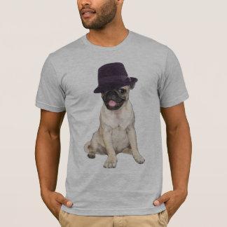 Fedora Pug T-Shirt