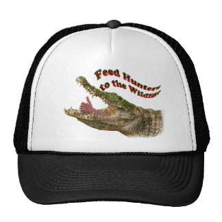 feed hunters to the wildlife trucker hat