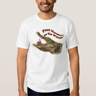 feed hunters to the wildlife t-shirts