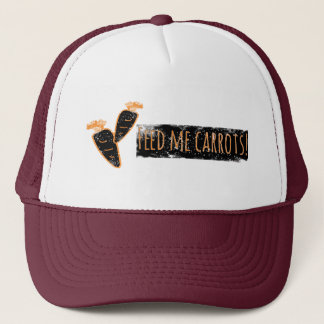 Feed me Carrots Hat / Cap