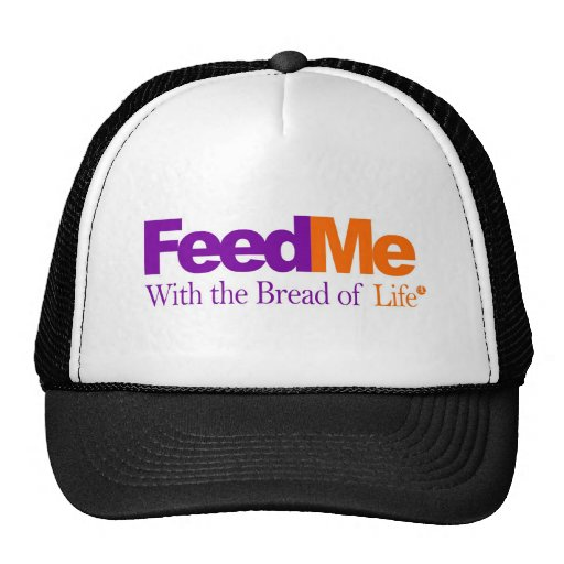 Feed Me: Delivery Parody Mesh Hats