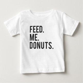 Feed Me Donuts Print Baby T-Shirt