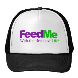 Feed Me (Green): Delivery Parody Trucker Hat