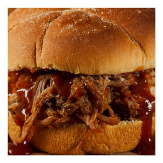 Feed Me NOW Barbecue Poster - SRF