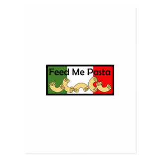 FEED ME PASTA POST CARDS