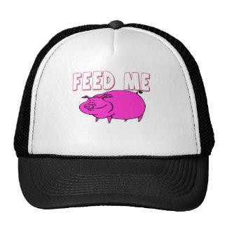 FEED ME PIG MESH HATS