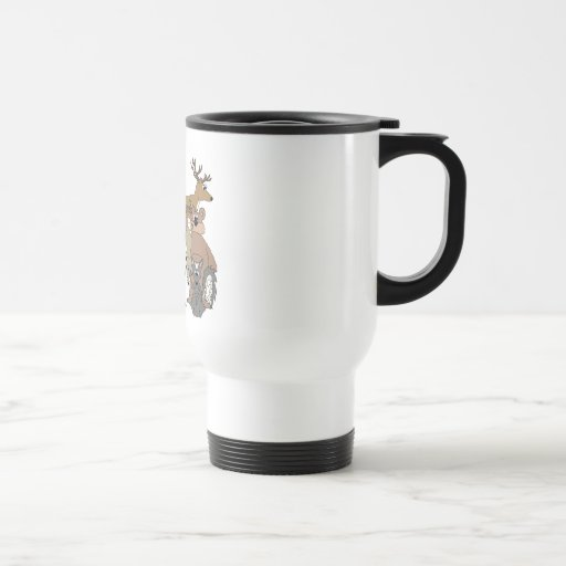 Feed the Animals Stainless Steel Travel Mug