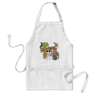 Feed the Animals Standard Apron