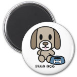 Feed The Dog! Refrigerator Magnets